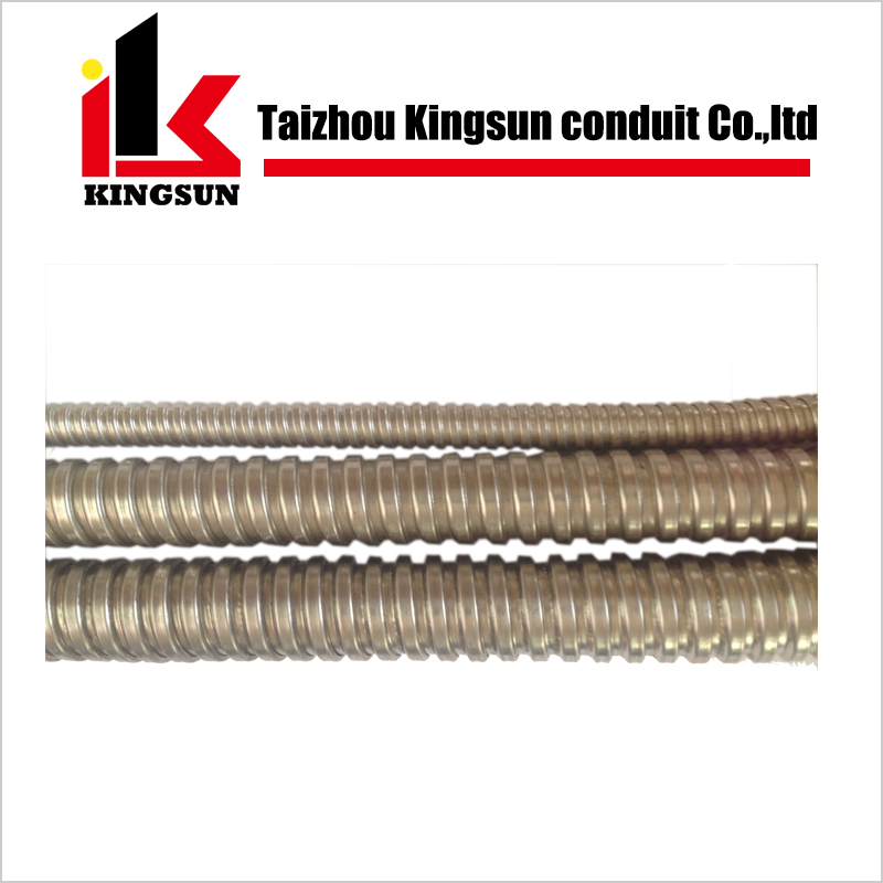Stainless steel flexible electrical gi conduit pipe