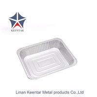 High quality half size aluminum foil container