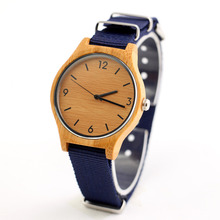 NY-C fashion nato strap wooden watches men's watches wholesale