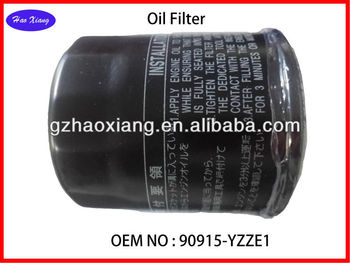 Best Oil Filter for Auto 90915-YZZE1
