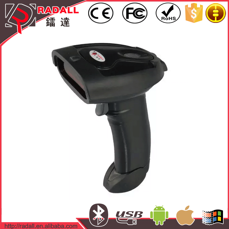 RD-300 Bluetooth Wireless Barcode Scanner Suppported IOS& Android/Window System
