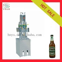 4 Heads Isobaric Bottled Beer Filling