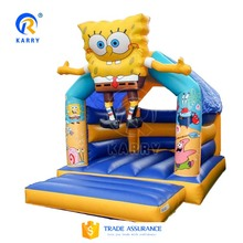 High quality cartoon bouncy castle, Jumping inflatable castle,indoor & outdoor inflatable bouncer for sale
