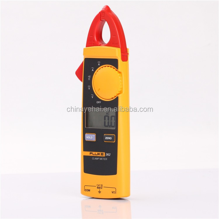 100% Authentic Fluke-362 True-rms AC/DC Clamp Meter Digital