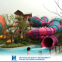 Hot sell New design play land aqua slides Factory in china