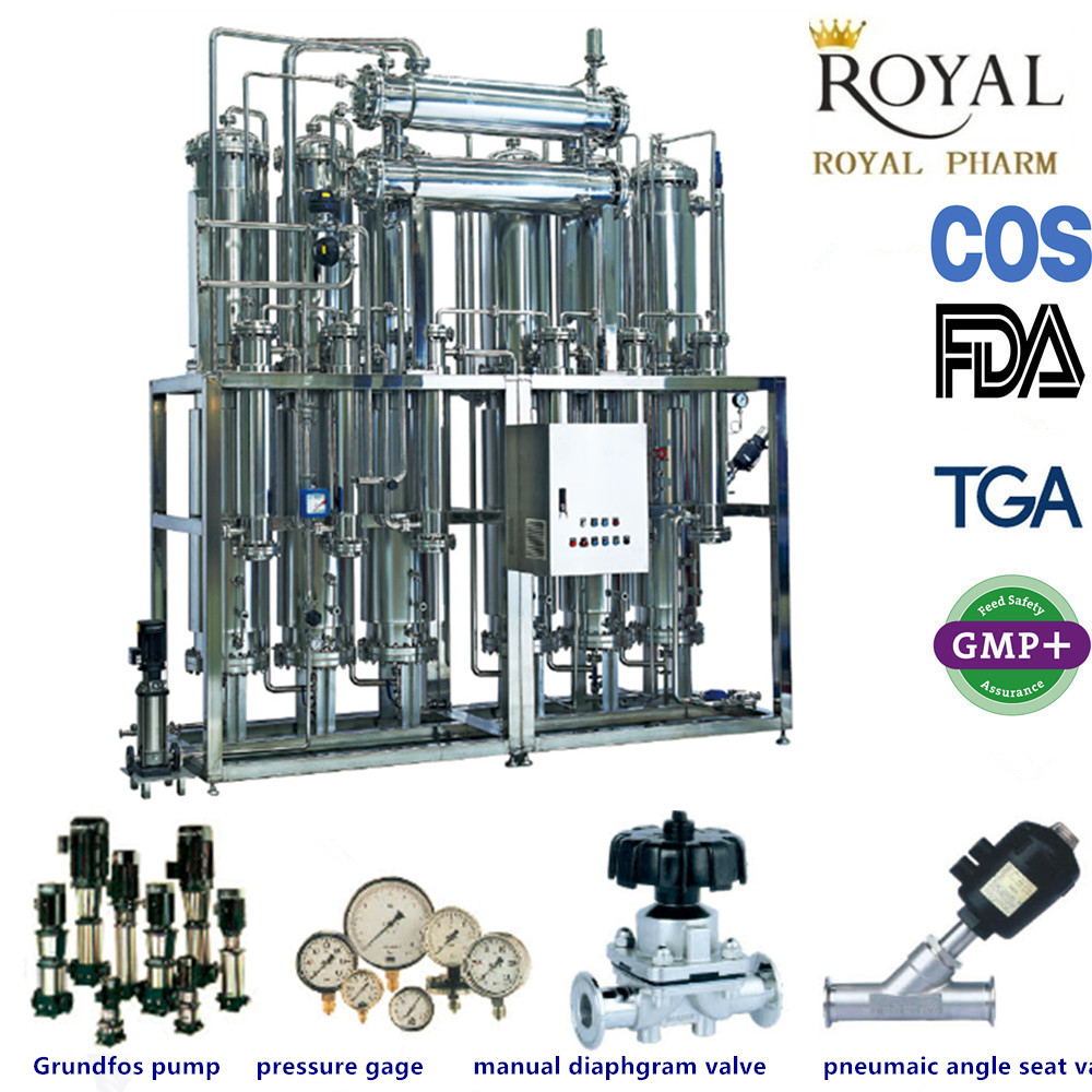 special distilled water machine manufacturer for injection water