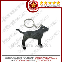 Customized Make Leather Keychain With Cute Shape