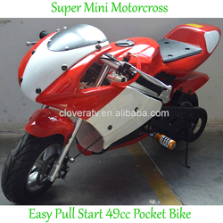 Super Motorcycle 49cc Sport Pocket Bike for Children