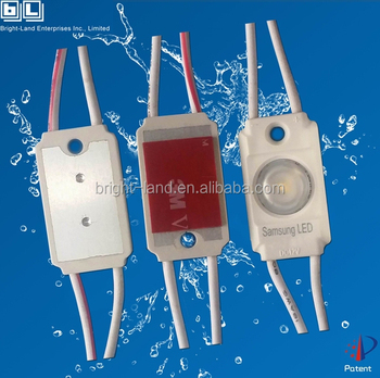 UL listed Factory led module with lens in injection casing