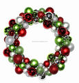 3d christmas wreath light white berry christmas wreath with reindeer