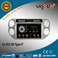 Best wholesale Android 5.0 car audio radio for VW Tiguan 2015 car dvd player with gps bluetooth mirror link