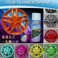 Peelable Plastic Dip Rubber Car Rim Spray Paint Film 400ML/Bottle