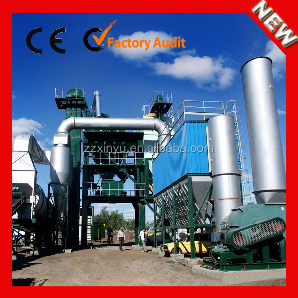 Xinyu Road Construction Companies LB3000 Large Scale Stationary Hot Mix Bitumen Batching Plant for Sale