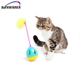 Interactive Cat Dog Toy Tumbler Roly-Poly with Assorted Feathers Wand Teaser and Exerciser Attachments Small Bell for Pet