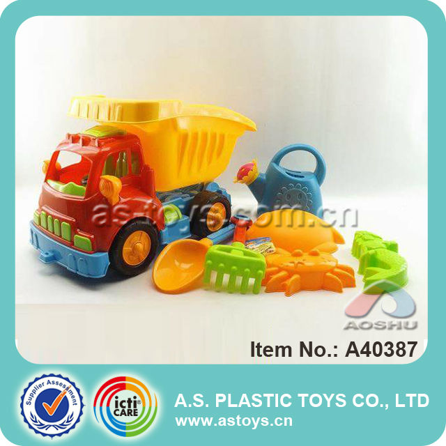 Newest summer beach cart and beach tools set sand beach toy