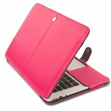 New PU Leather Bag Cover Case For Macbook Pro Retina 15 ""