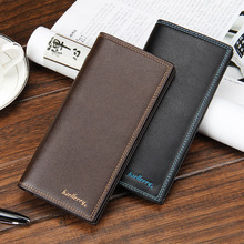 YiWu Baellerry Fctory Sale Wallet Long Leather Business Bag Phone Case With Card Wallet Long Wallet