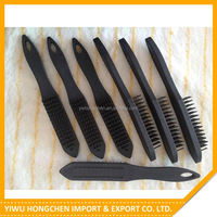 Best seller super quality soft grip wire brushes set with fast delivery