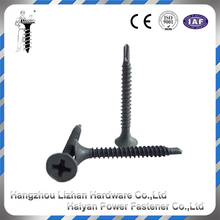 Competitive price tek sizes black modified truss head self drilling screw