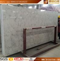 Pre cut absolute white quartz countertop slabs
