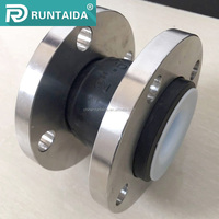 High quality flexible single sphere ptfe rubber expansion joint