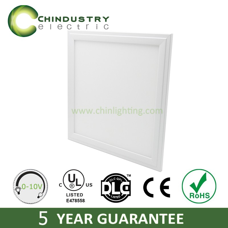 CE ROHS DLC UL cUL listed dimmable square led surface panel light, led ceiling panel light