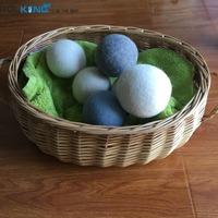 China Supplier 100% XL New Zealand Wool Felt Dryer Ball Laundry Dryer Ball new 2016