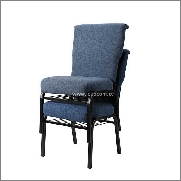 Leadcom hot sale stacker church chairs (LS-522)