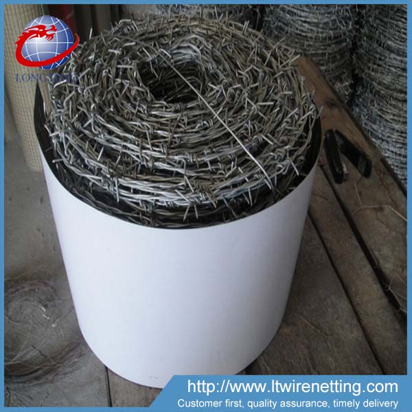 anping best selling different types of barbed wire, used plastic barbed wire for sale