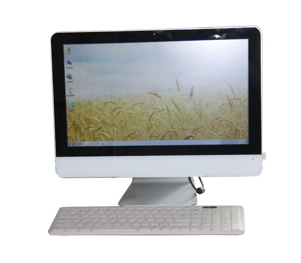 Most popular 18.5 inch cheap touch screen all in one pc desktop tv