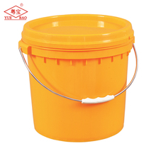 High-quality plastic barrel 15 L pail Plastic bucket with lid and handle Durable plastic pail