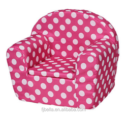 Rose Polka Dot Design Removable & Washable Baby Single Foam Sofa Couch Chair