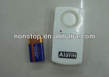 Free Shipping! Wireless Remote Control Vibration Alarm for Protecting Your Property (White)