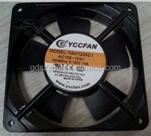 120x120x25mm 110v 220v cooling 120mm ac low watt fan