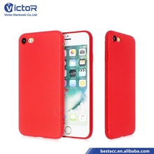 China wholesale leather stripe TPU design case phone cover for iPhone 7