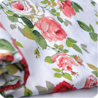 55% Polyester 45% Cotton 20*16 Printed Poplin Fabric Supplier