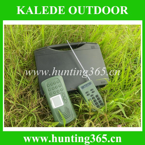 2017 new products bird sounds mp3 with remote control built-in speaker cp-387 hunting decoy equipment