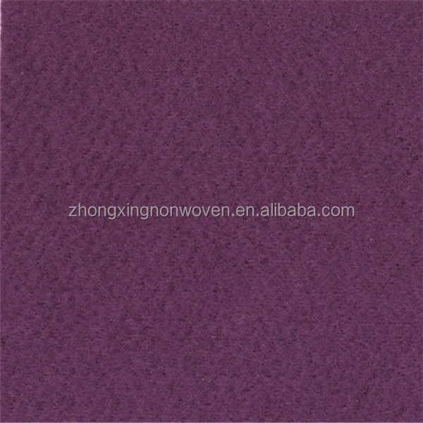 Nonwoven Needle Puched 100% Polyester Decoration Carpet