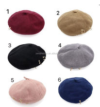 Fashion Style New designs Wholesale Military Beret For Girls