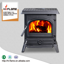 HiFlame 10.8KW cast iron stoves design wood burning stoves and fireplace HF517UB