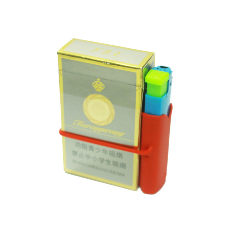 Customed Silicone LIghter Case for Easy Bundled with Cigarettes