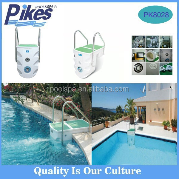 newly swimming pool used machine swimming pool filter with step ladder