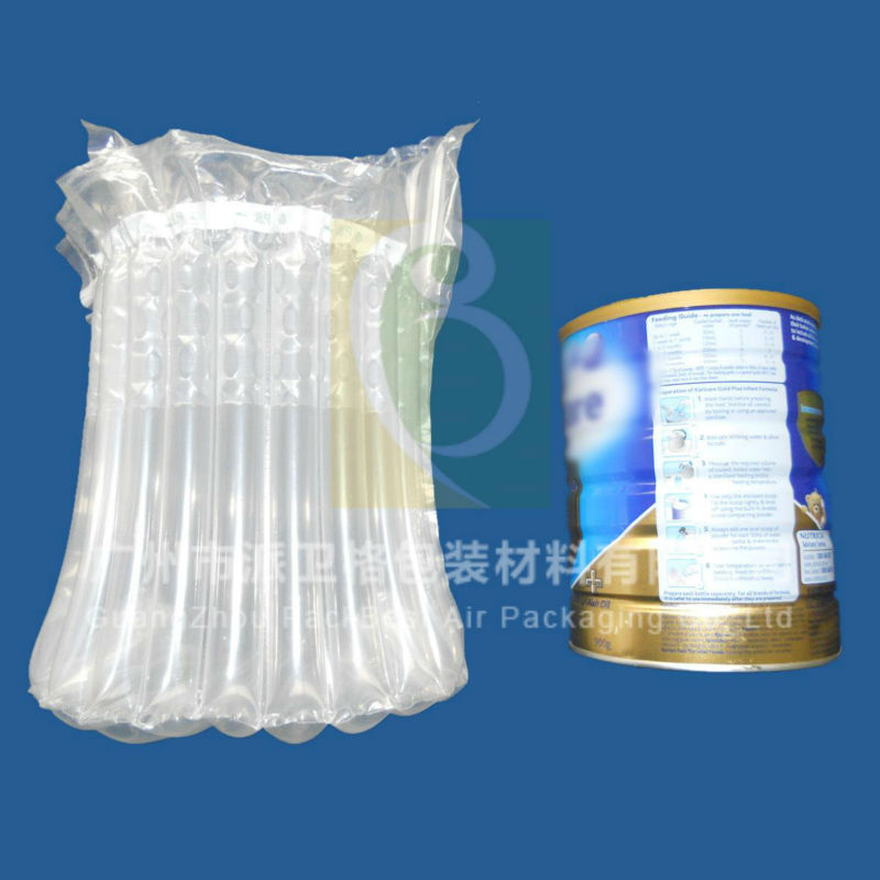 PBL214 shock resistant inflatable air bag for milk container /air bag for milk powder container