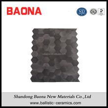 High Safety Silicon Carbide Ceramics Hexagonal Tiles For Bulletproof Jackets