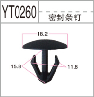 Professional manufacturer of seal plastic clips for auto parts fasteners/plastic clips for cars