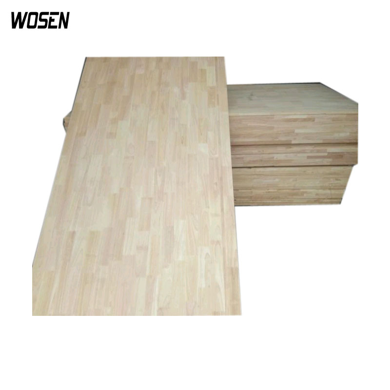 rubberwood finger joint laminated board for india market