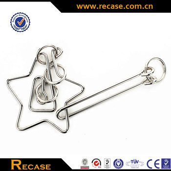 High quality Coiled Metal Puzzle, mini luxury Coiled Metal Puzzle