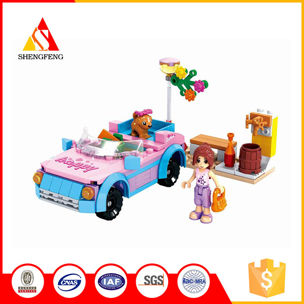 AUSINI building block toy educational fashion girl games