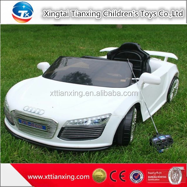 High quality best price wholesale ride on car battery remote control children kids toy assembling battery operated toy car