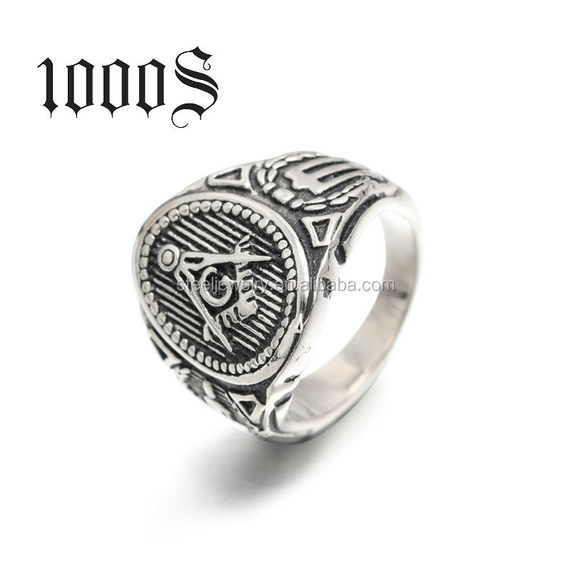 LASTEST NEW DESIGN STAINLESS STEEL MASONIC CHAMPIONSHIP CLASS RING
